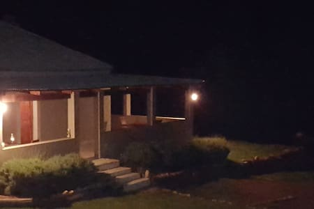 Adequate light on back porch