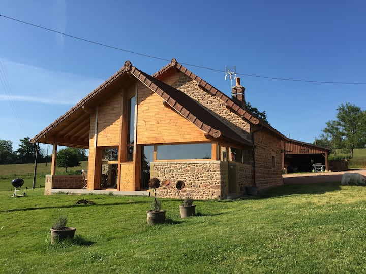 Les Perruchons, ancienne grange rénovée avec soin