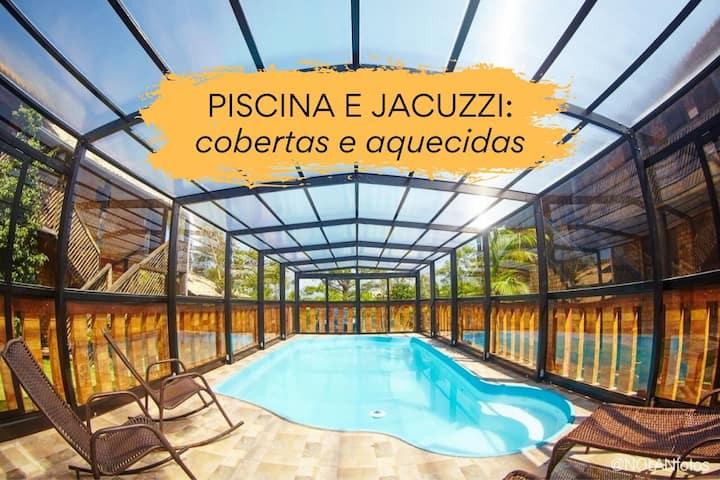 Suíte dupla - Hotel Praia do Rosa