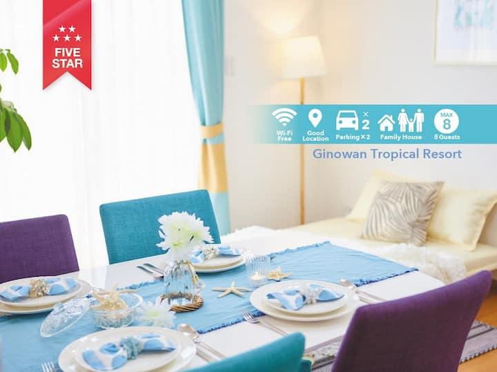 Tropical Resort House Super convenient location!