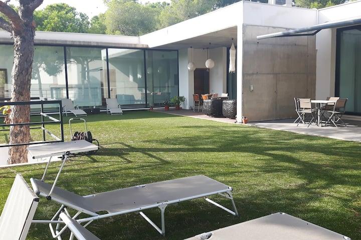 Vive fantástica casa Urbanización lujo Valencia 5