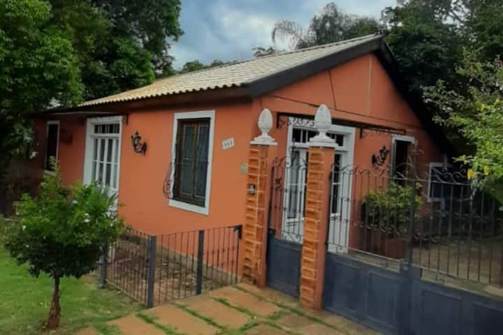 autentica vivenda  camponesa do interior paulista
