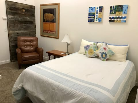 Downtown!  One bedroom with kitchenette.