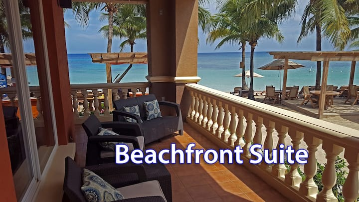 *NEW* Beachfront Infinity Bay Suite with Terraces