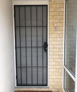 Front door entrance.wheel chair accessible