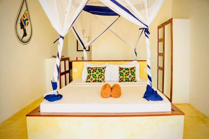 Mnana Beach Bungalows Double room with sea view 3