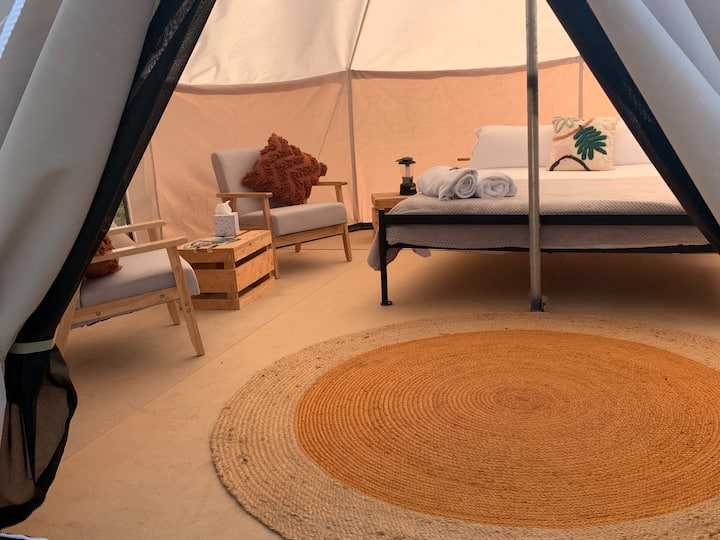 Luxury Camping Tent 1