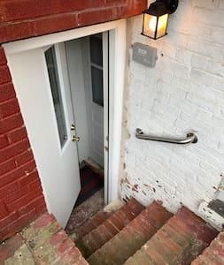 Front door to apartment.