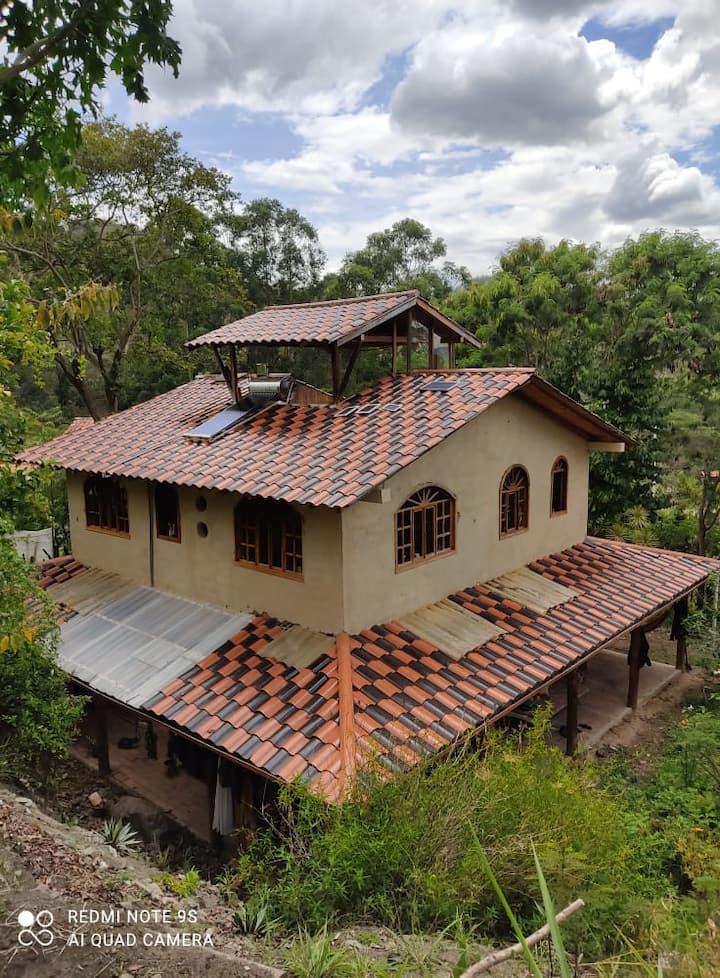 Alojamiento  entre  Vilcabamba y  Malacatos