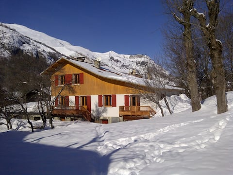 Duplex in typical Chalet in Valloire, Savoie