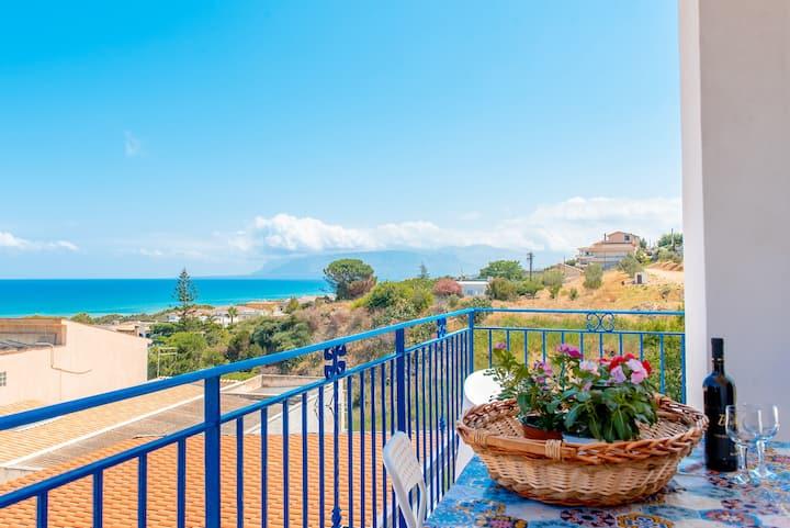 Appartamento in villa 150mt dal mare ottimowifi DB