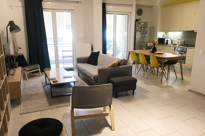 75sqm Athens Heart Boutique Apt-300mACROPOLISmetro