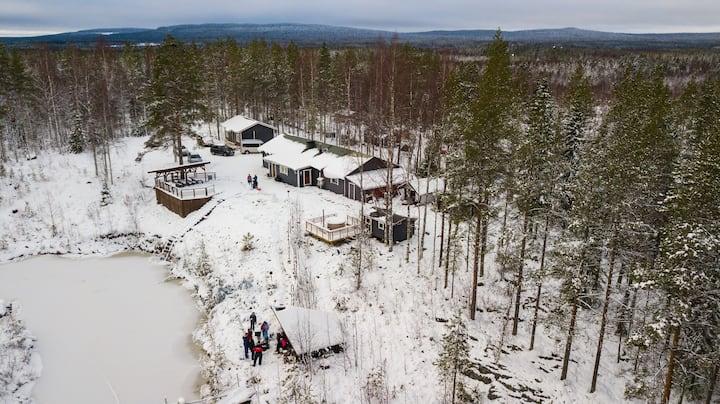 Parpalandia Aurora Lodge - Forest retreat