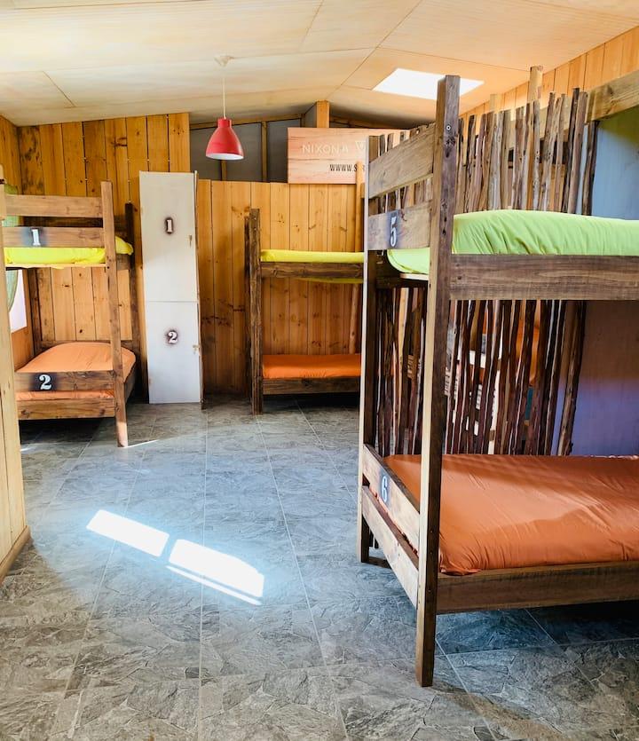 Tsunami-dormitorio x10 playa Puertecillo La Favela
