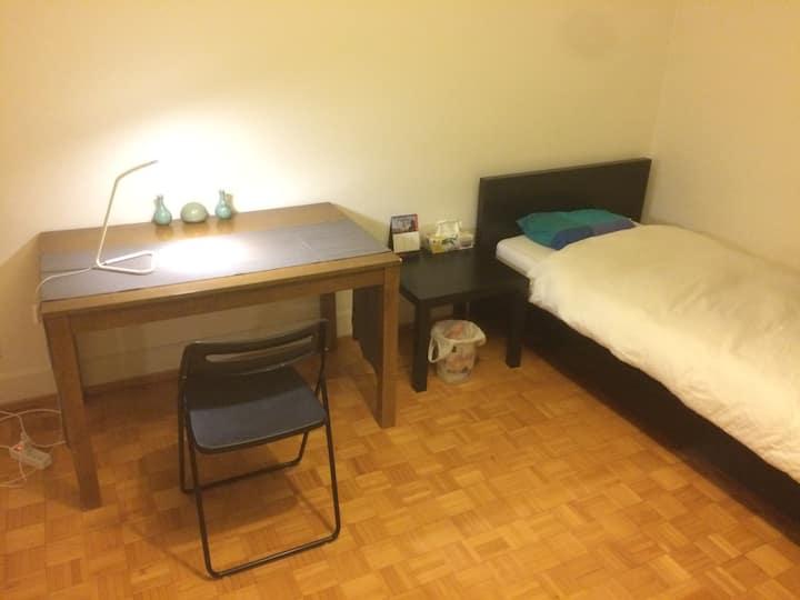 Chambre propre à Lausanne
