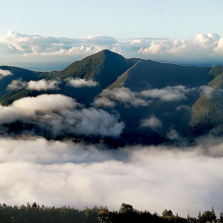 Stanza Privata in montagna con vista panoramica.