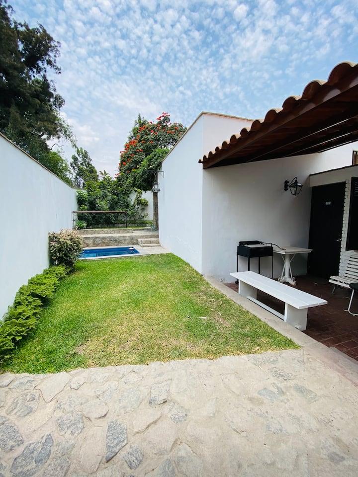 Acogedora casa en Chaclacayo