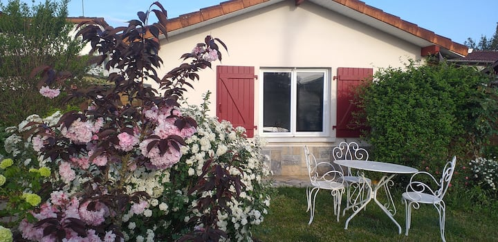 superbe studio avec jardin privatif