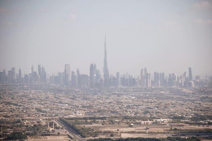 Burj Khalifa view from second bedroom