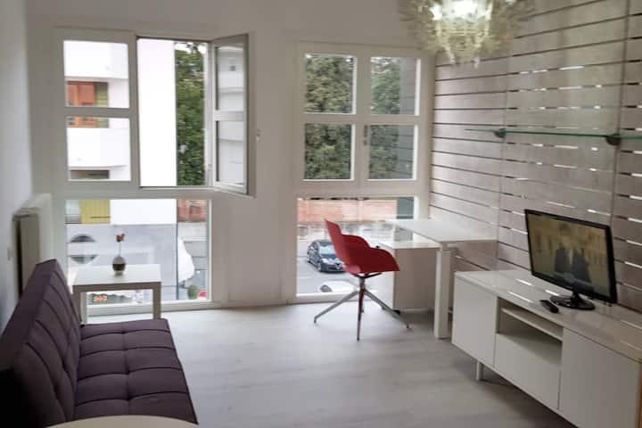 Central cozy studio apartment