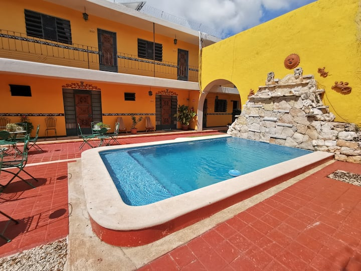 Perfect location in Merida´s downtown