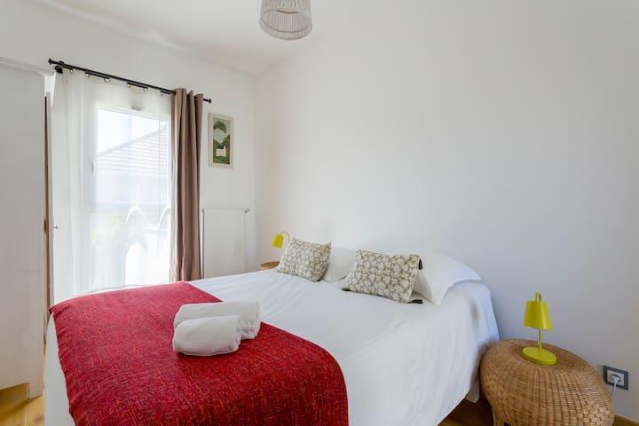 Chambre ALUDRA - CHB#2 - 1er étage - Lit 140*200