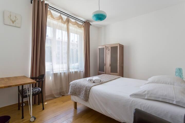Chambre DIPHDA - CHB#4 - 1er étage - Lit 140*200