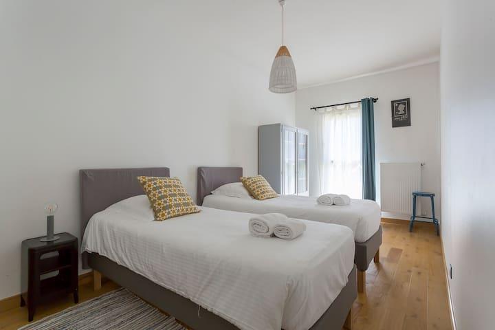Chambre ALTAIR - CHB#1 - 1er étage - 2 Lits 90*200