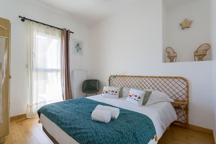 Chambre ANTARES - CHB#3 - 1er étage - Lit 140*200