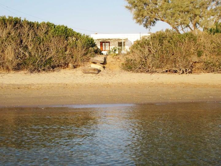 Home by the sea in Kimolos