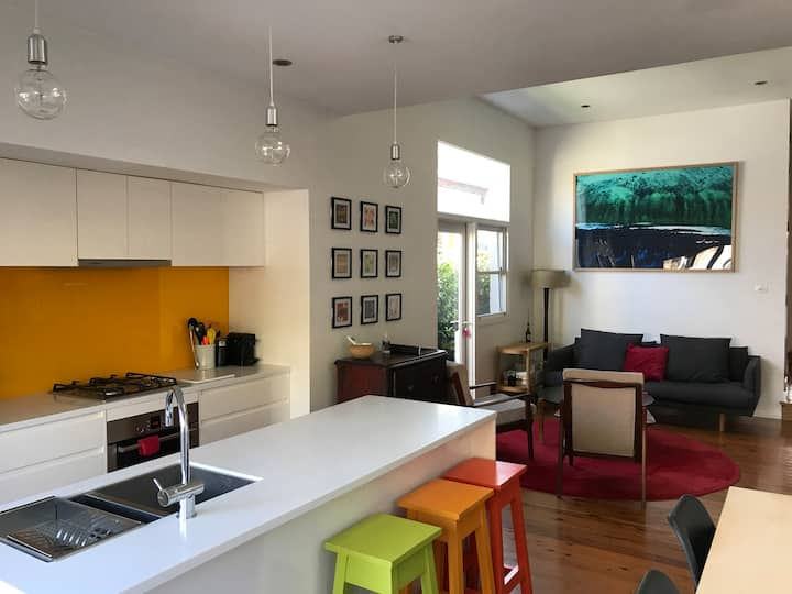 Light and bright 3 bed terrace in city village