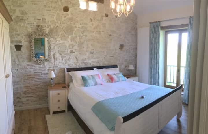 Delightful 4 * 1st floor 1 bedroom gite