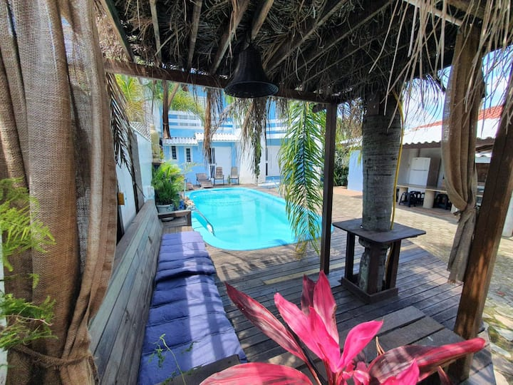 Casa com 03 quartos piscina praia dos Ingleses