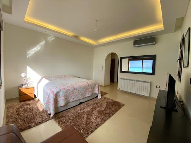 Suite's Master bedroom at villa's second floor