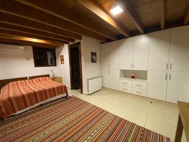 Suite's bedroom at villa's third floor
