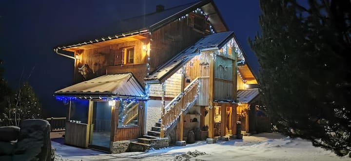 Chalet Anémone des neiges