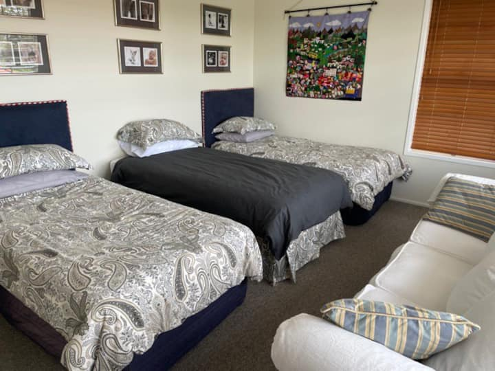 Family friendly twin room