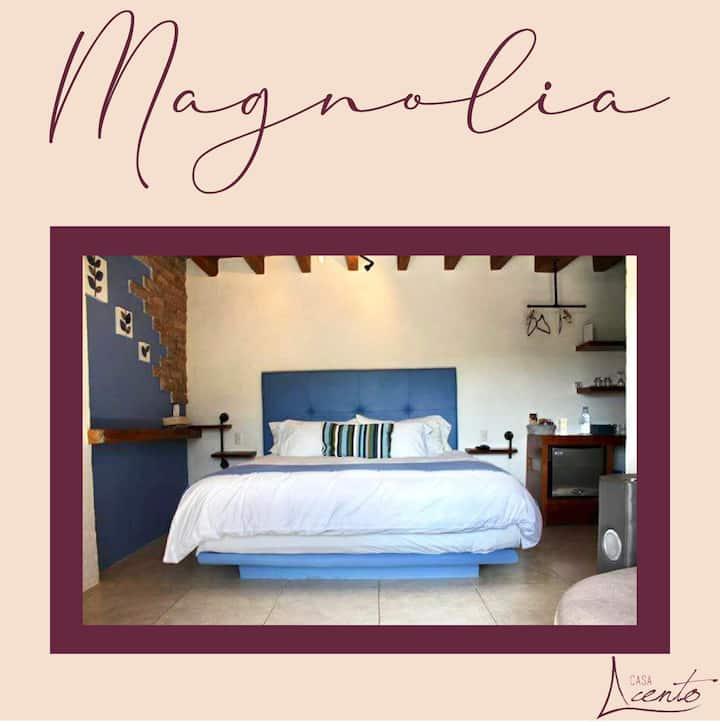 Magnolia una suite de lujo con Jacuzzy