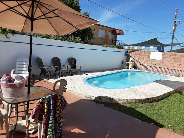 A+3/2 PrivatePool, A/C in bedrooms, see info&fotos