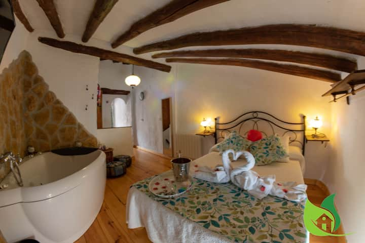 Casa rural con jacuzzi y chimenea, Sierra Cazorla
