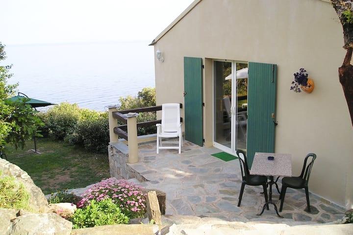 Maison individuelle vue mer avec jardin