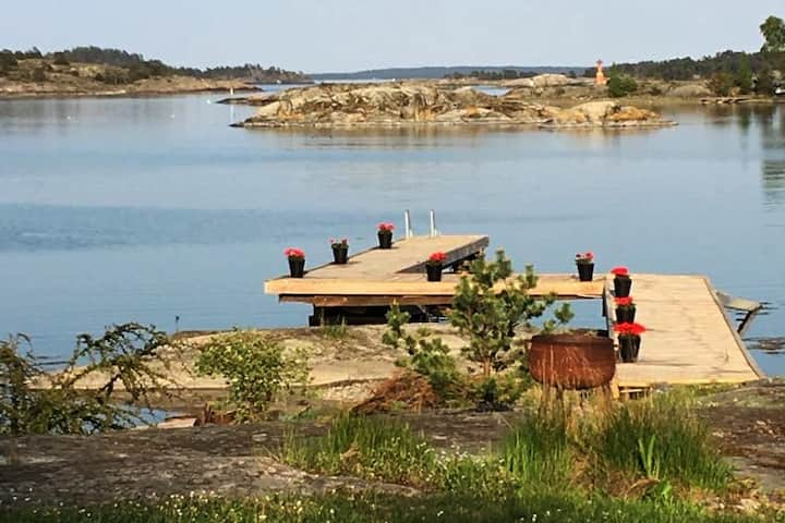 Private seaside villa in Stockholm archipelago