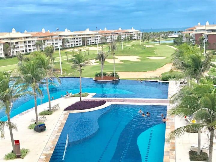 Golf Ville Resort - (Brisa do Golf) Apto 01