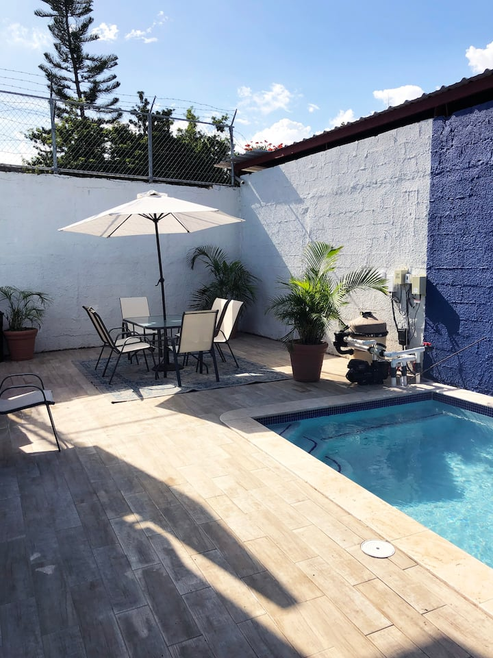 Enjoyable Studio with Private Pool  - 102