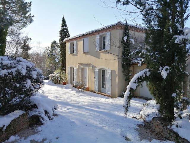 Pyrénées, villa contemporaine 170 m2 avec piscine