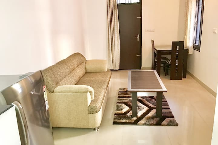 OLIVE Modern 1 Bedroom Aprt with Kitchen @ Jaipur