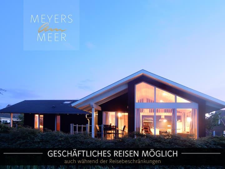 Holzferienhaus Feldrain Sauna, 500m Ostsee-Strand