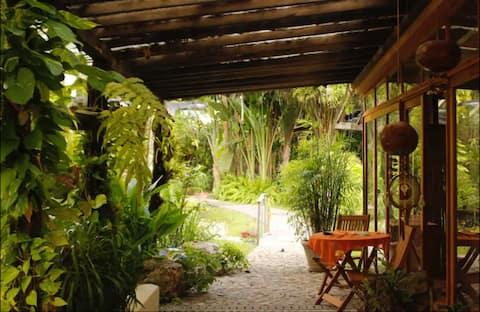 KAABNA SPA habitación - Luna- entre jardín