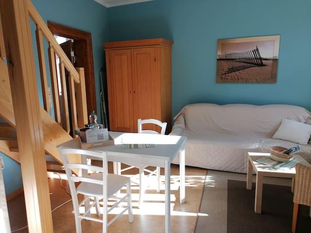 Maisonette - Zimmer  in großem alten Bauernhaus