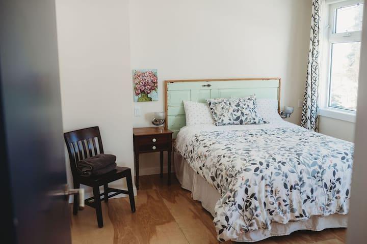 Main floor master bedroom.